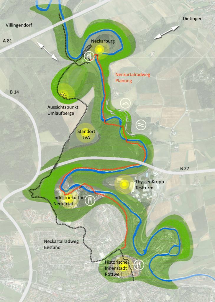 Rahmenplan Grünentwicklung & Naherholung der Stadt Rottweil