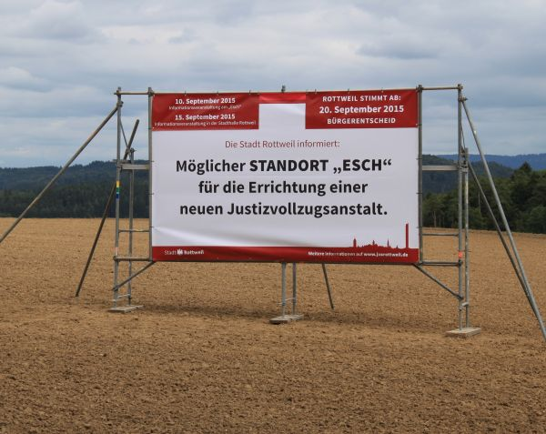 "Info-Runde übers ""Esch"" am Donnerstag"