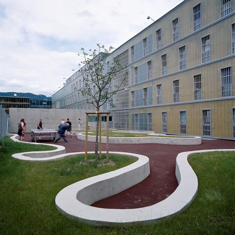 Modernes Justizzentrum Leoben  (© Paul Ott)