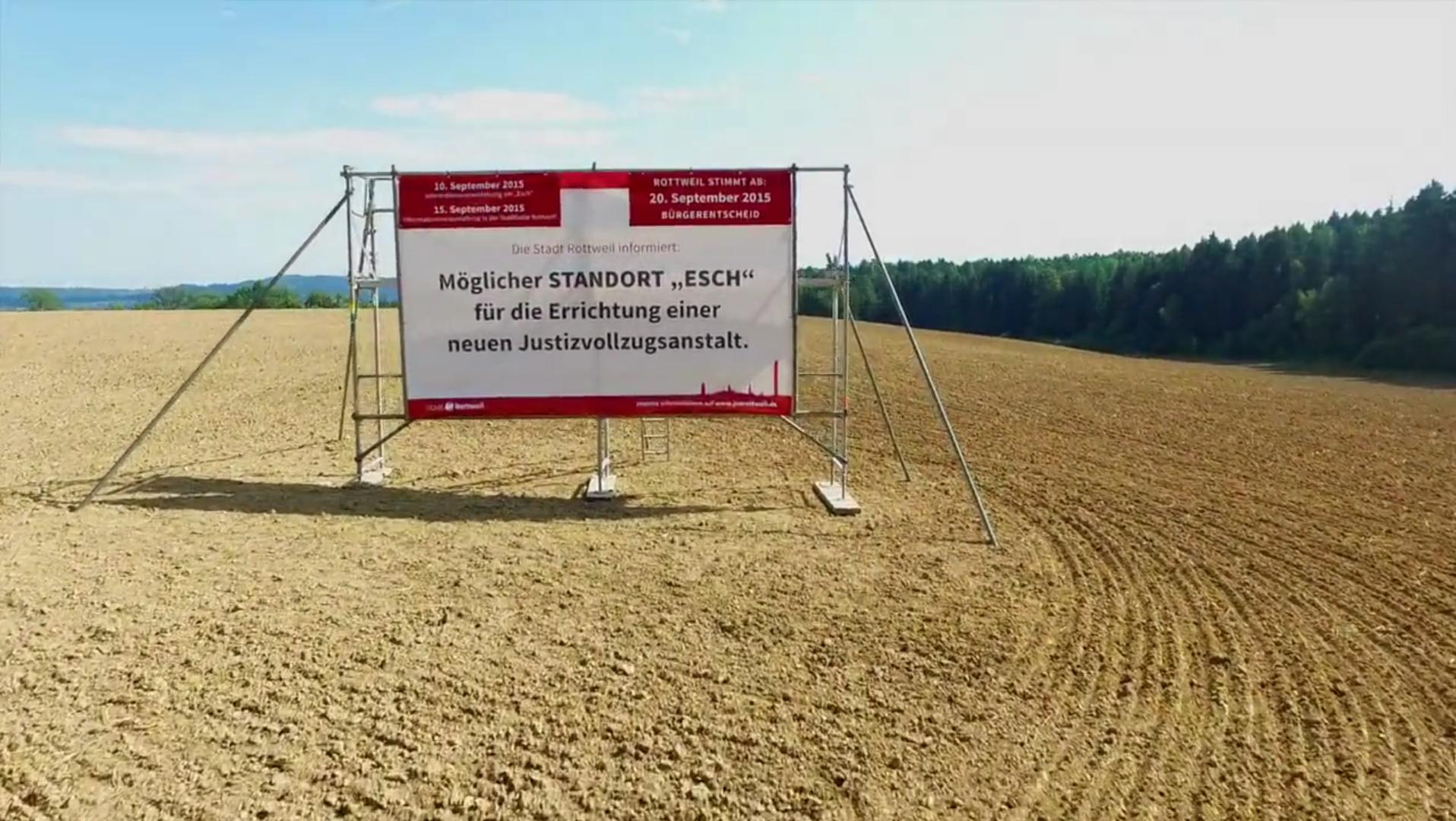 """In diesem Video sieht man die Fläche (braun), um die es sich beim """"Esch"""" tatsächlich handelt:"""