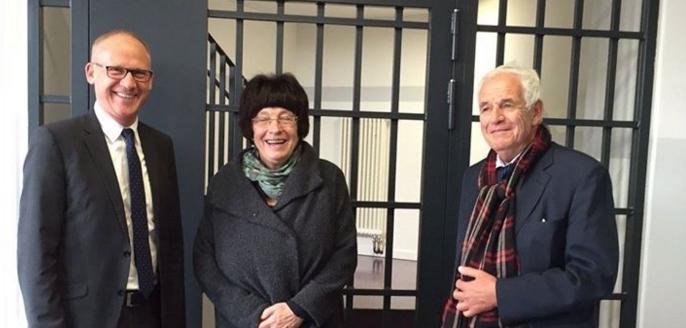 Facebook Post von Staatsrätin Erler über den Besuch der Justizvollzugsanstalt Berlin-Heidering