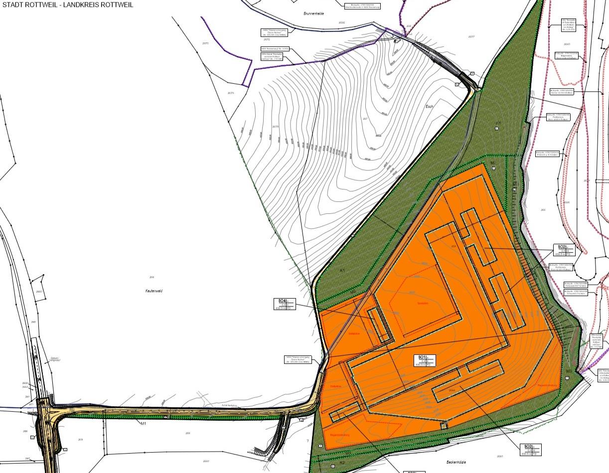 Stadt Rottweil: Pläne liegen aus
