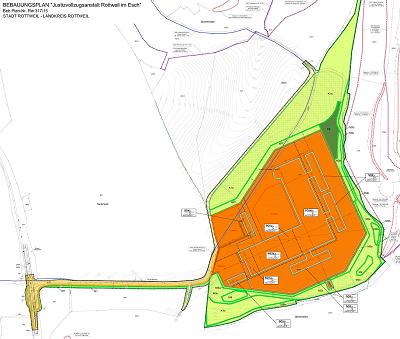 Stadt Rottweil: Offenlage des Bebauungsplans